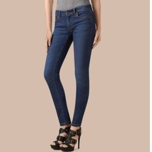 • Burberry Brit • Skinny Low Rise Jeans Blue 26